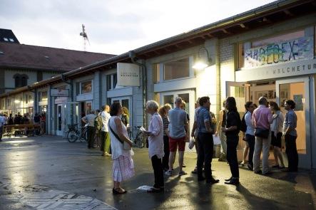 Kunstraum Walcheturm Zürich, June 24th, © Doris Kessler